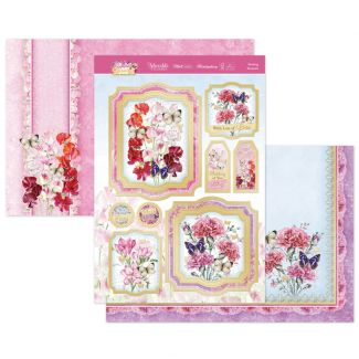 Blushing Bouquets Luxury Topper Set