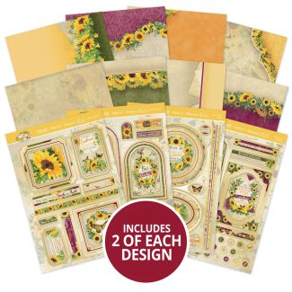 Forever Florals - Sunflower Luxury Topper Collection