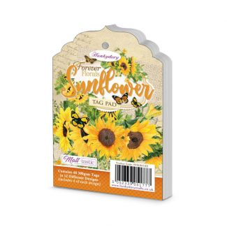 Forever Florals - Sunflower Tag Pad