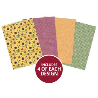 Forever Florals - Sunflower Printed Parchment
