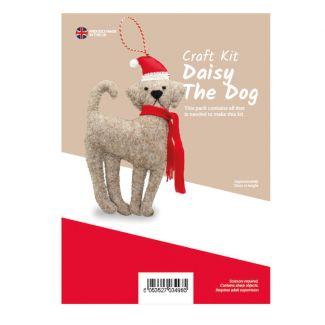 Daisy The Dog Felt Kit (approx 20cm tall)
