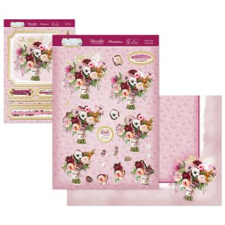 Flourishing Florals Deco-Large - A Rosy Posy