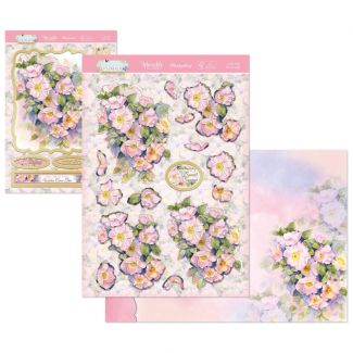 Warmest Wishes Hunkydory Crafts Flourishing Florals Deco-Large Topper Set