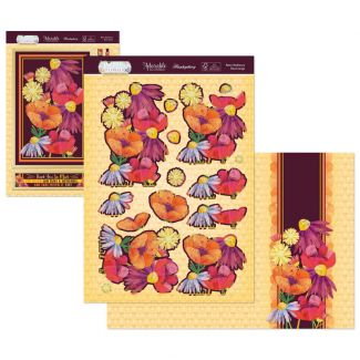 Flourishing Florals Deco-Large - Retro randiance