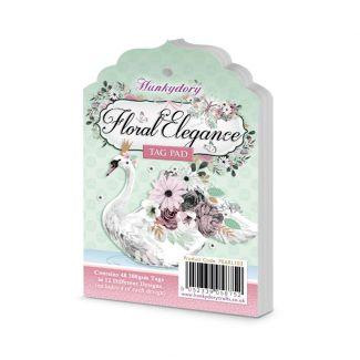 Floral Elegance Tag Pad