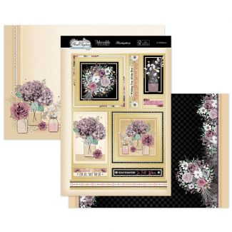 In Full Bloom Luxury Topper Set
