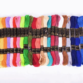 Trimits Thread Pack - Bright Colours x 36 skeins