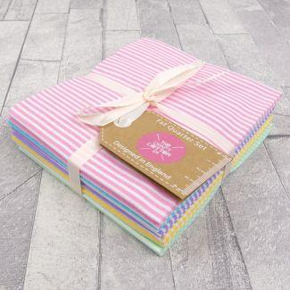 Fat Quarter Set - Pastel Stripes