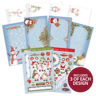 Frosty Friends Festive Slider Concept Card Collection