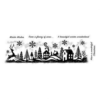 Woodware Clear Stamp - Winter Wonderland