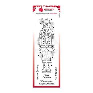 Woodware Festive Clear Stamp - Nutcracker