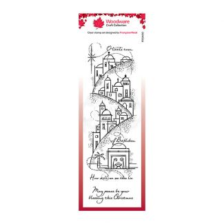 Woodware Festive Clear Stamp - Peaceful Night