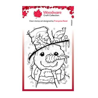Woodware Festive Clear Stamp - Mr Frosty