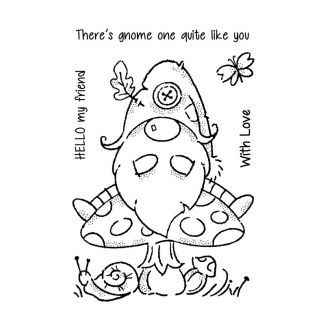 """Woodware Clear Stamp - Forest Gnome (6"""" x 4"""")"""