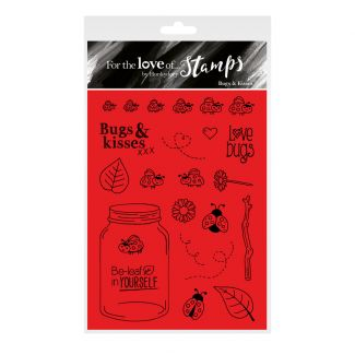 For the Love of Stamps - Bugs & Kisses