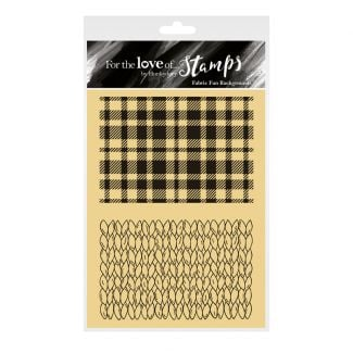 For the Love of Stamps - Fabric Fun Backgrounds