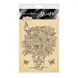 For the Love of Stamps - A Bouquet for You