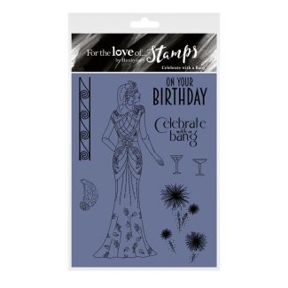 For the Love of Stamps - Celebrate with a Bang