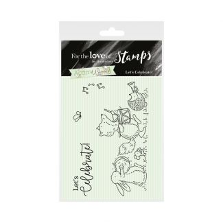 Acorn Wood Clear Stamp - Let's Celebrate