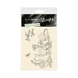 Acorn Wood Clear Stamp - Just for You