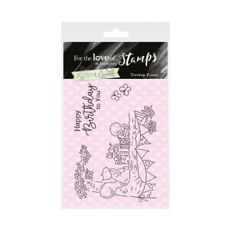 Acorn Wood Clear Stamp - Treetop Treats