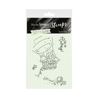 Acorn Wood Clear Stamp - Up and Away
