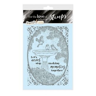 Stamp-a-Card - A Refreshing Dip
