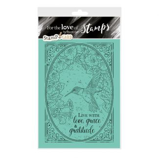 Stamp-a-Card - Flight of the Hummingbird