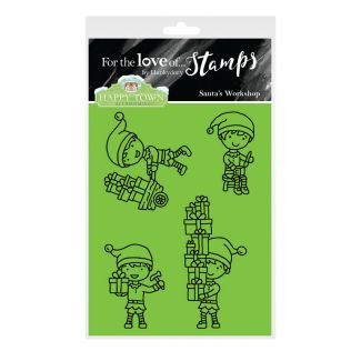 Happy Town Stamp Set - Santa's Workshop