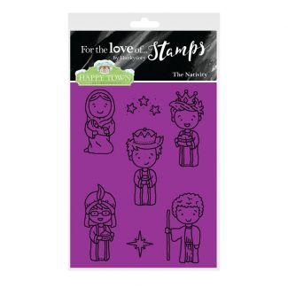 Happy Town Stamp Set - The Nativity