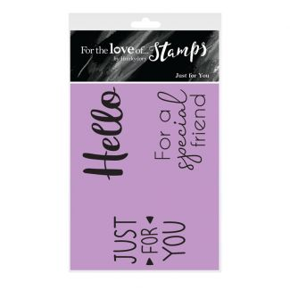 For the Love of Stamps - Just for You A7 Stamp