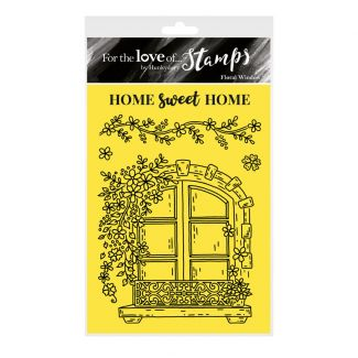 For the Love of Stamps - Floral Window A6 Stamp Set