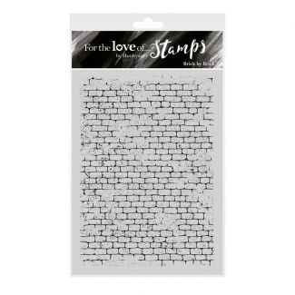 For the Love of Stamps - Brick by Brick A6 Stamp Set