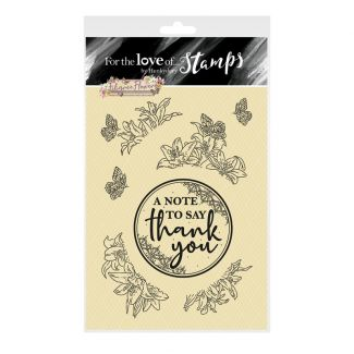 For the Love of Stamps - Filigree Flowers - Lily