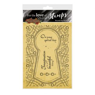 For the Love of Stamps - Beyond the Keyhole A6 Stamp Set
