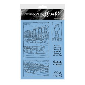 For the Love of Stamps - Harbourside A6 Stamp Set