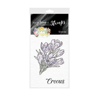 For the Love of Stamps - Mini Stamps - Crocus