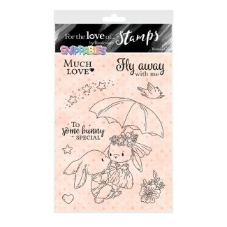 For the Love of Stamps - Snippables Cute & Colourful - Bunnies