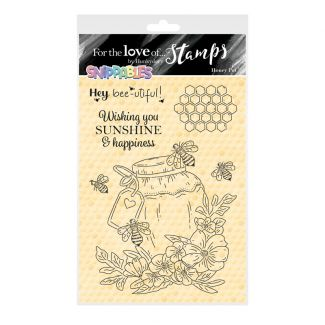 For the Love of Stamps - Snippables Cute & Colourful - Honey Pot