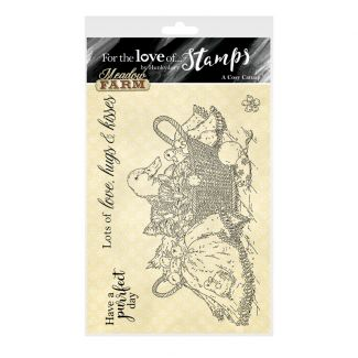 For the Love of Stamps - A Cosy Catnap A6 Stamp Set