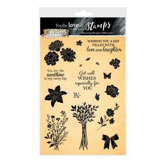 For the Love of Stamps - Blooming Bouquet A5 Stamp Set