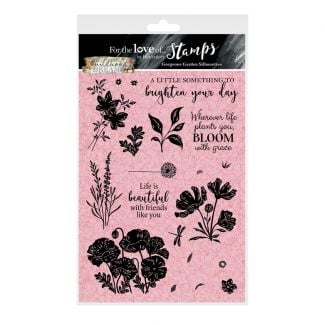 For the Love of Stamps - Gorgeous Garden A5 Stamp Set