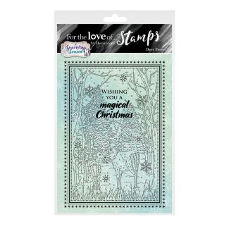For the Love of Stamps - Deer Forest A6 Stamp Set