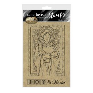 For the Love of Stamps - Mother Mary A6 Stamp Set