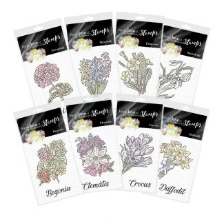 For the Love of Stamps - Forever Florals Spring Melody Mini Stamp Collection