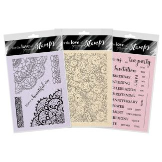 It's tea Time Edge It Stamp Collection