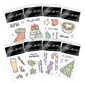 For the Love of Stamps - Christmas Crackers Stamp Multibuy