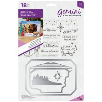 Gemini - Stamp & Die - Christmas Blessings