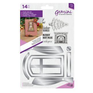 Gemini - Stamp & Die - Christmas Window