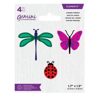 Gemini Die - Elements - Garden Friends
